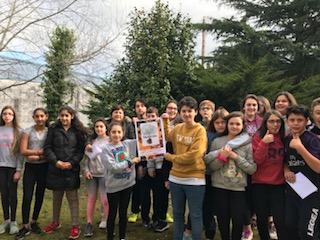 Foto grupo do IES do Carril