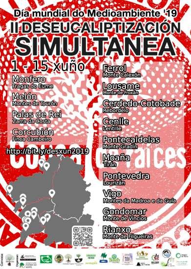 Cartaz II Deseucaliptización Simultánea